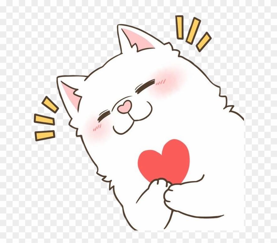 Freetoedit Cute Kawaii Dog Heart Warm Love Blush Surpri Image