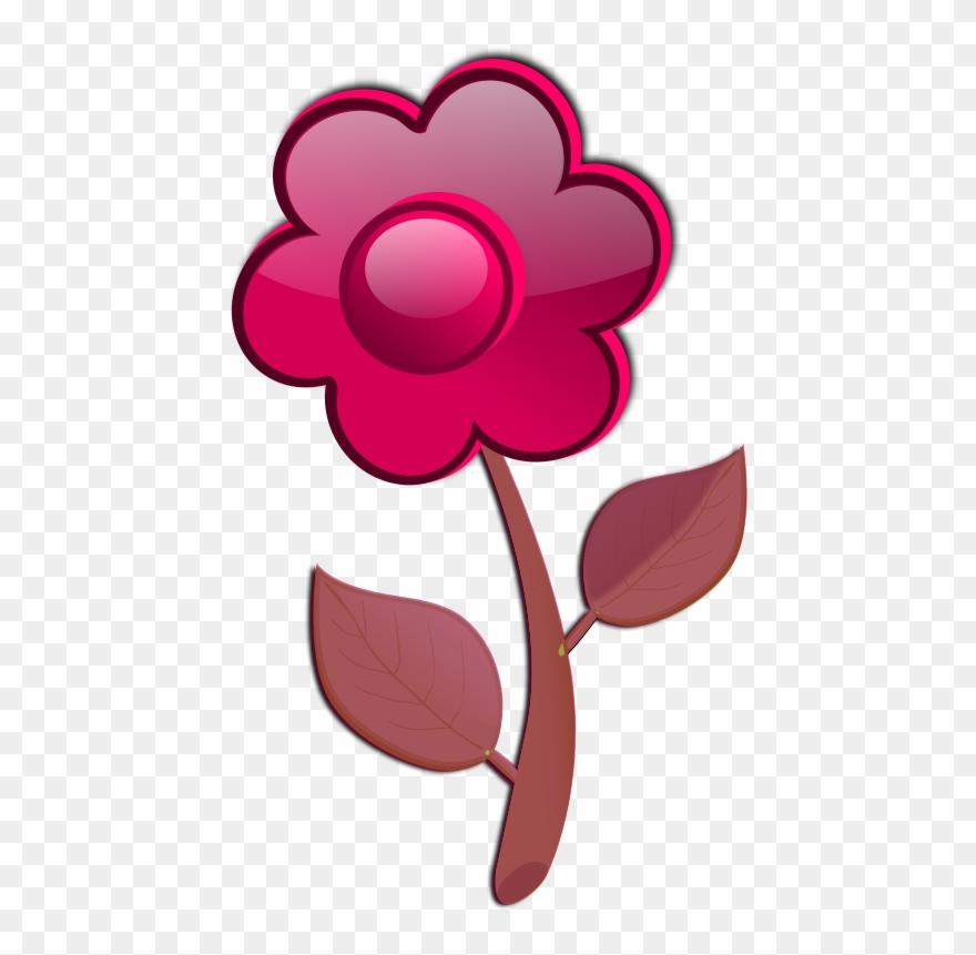 Free Flower A2 Tallos De Flores Vector Png Clipart 1010598