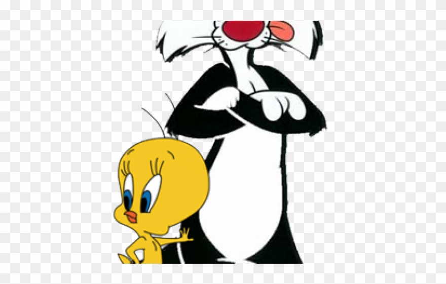 Skunk Clipart Sylvester Sylvester The Cat And Tweety Bird Png Download 1010950 Pinclipart