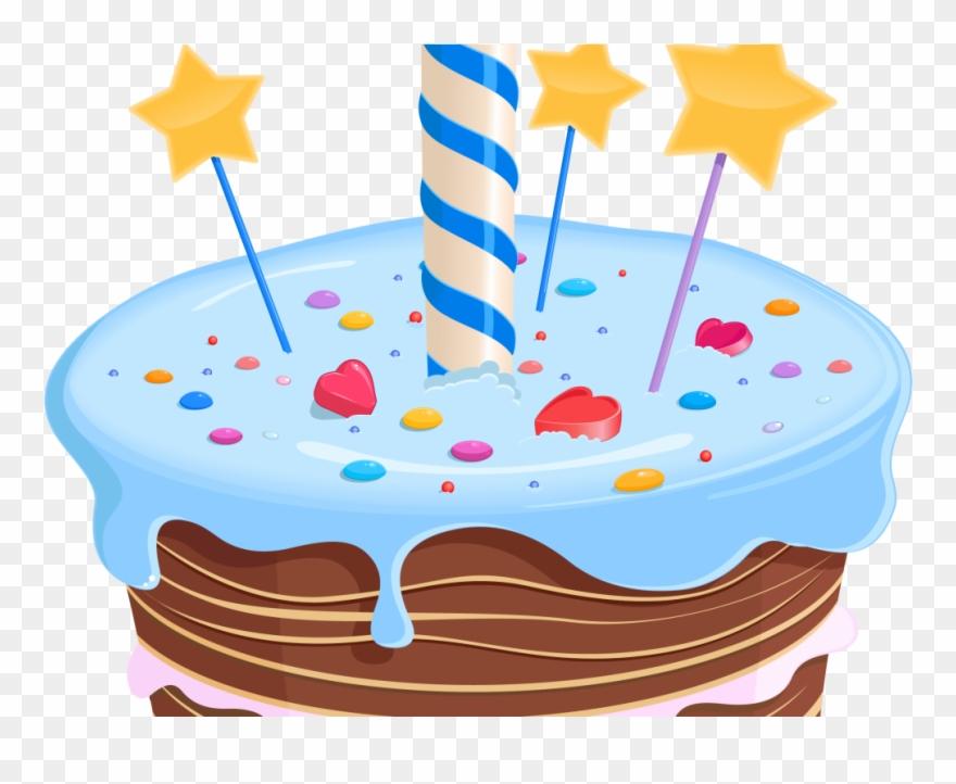 Birthday Cake Clipart Fancy