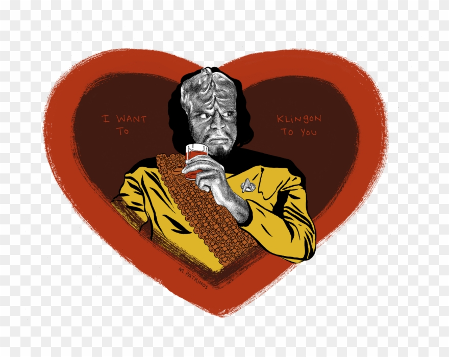 I Want To Klingon You Happy Valentines Star Trek Pinterest