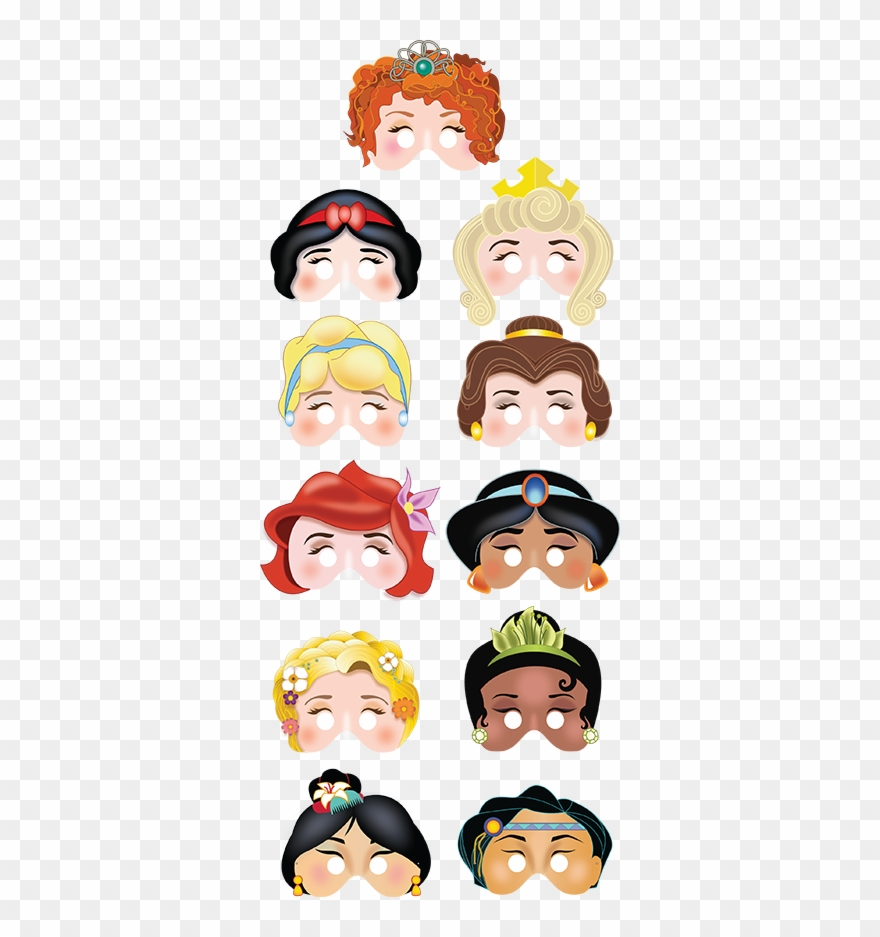 graphic about Printable Princess Picture referred to as Printable Princess Masks $17 Printable Masks, Get together - Disney