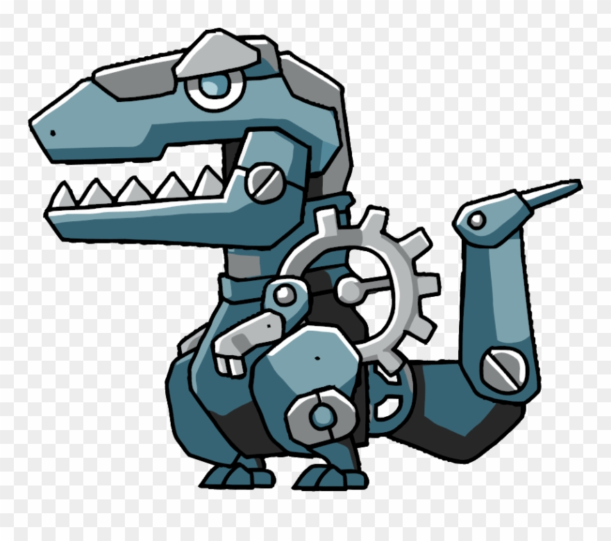 Robosaur - Scribblenauts Unlimited Clipart (#1021516