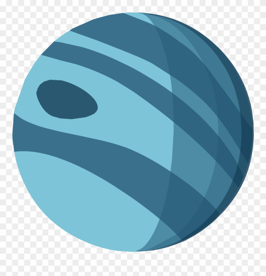 Planet neptune. Marble clipart png download