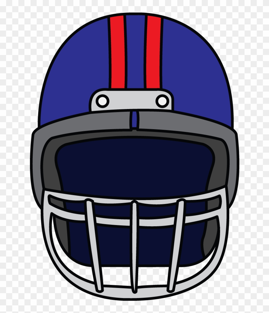 Superbowl Drawing Clipart Library Stock Football Helmet Facing