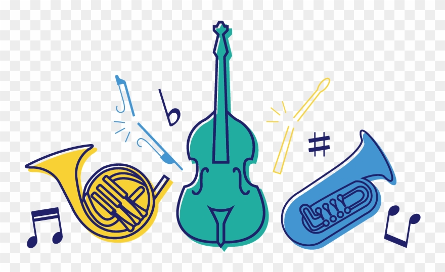 Latest From The Orchestra Clipart (#1031517) - PinClipart