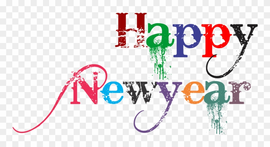Happy New Year Png 31