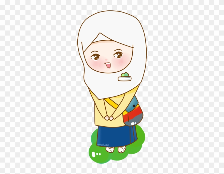 Azzahsaid Kartun Anak Sd Berangkat Sekolah Clipart 1042046