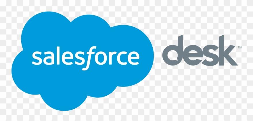 Salesforce Desk Logo Clipart 1042834 Pinclipart