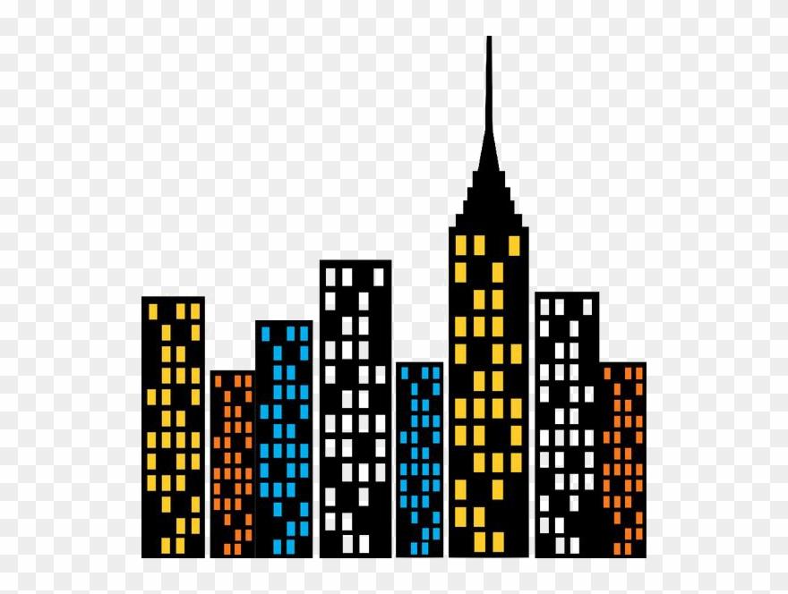 Superhero Cityscape Png Graphic Free Download Predio Do Homem
