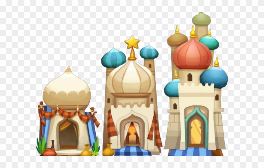 Arabien Nights Clipart Palace - 1001 Nights Palace - Png