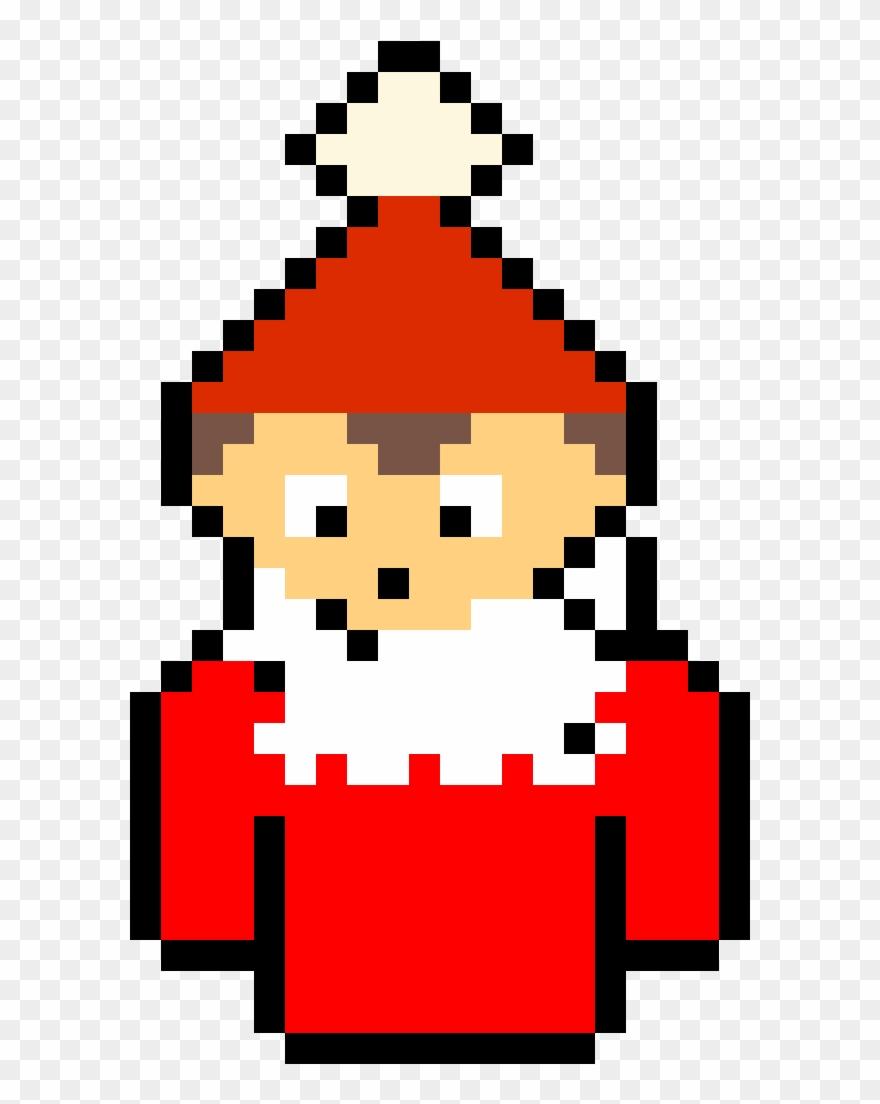 Elf On De Shelf By 25azia Tf2 Spy Pixel Art Clipart