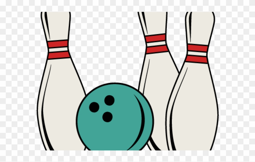 Bowling retro. Monster clipart pin and