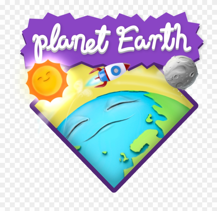 There Is Nothing As Have Knowledge About Your Planet - Planet Earth Clipart