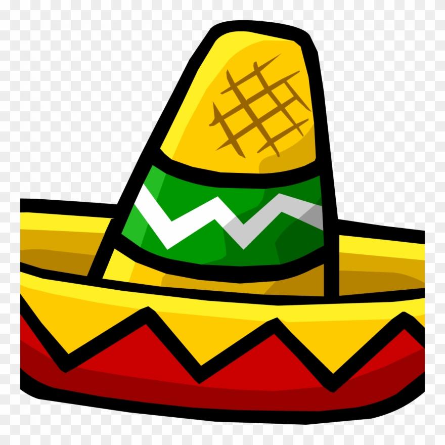 Mini Sombrero Clipart Mexican Cuisine Sombrero Clip - Clip Art Sombrero Hat  - Png Download f4b9d7a76c8