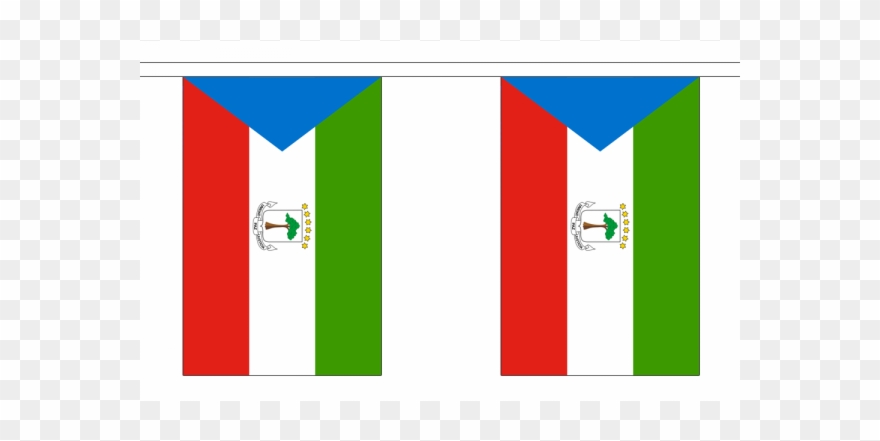 Equatorial Guinea Flag Bunting Equatorial Guinea National