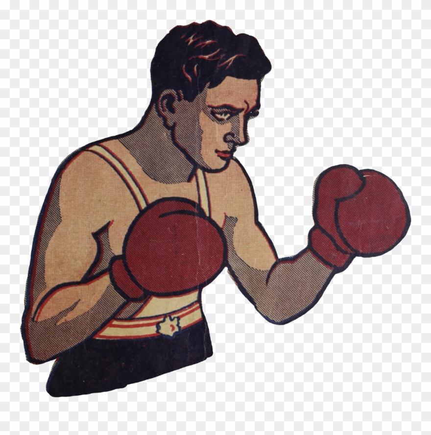 Boxinggloves Boxer Sport Vintage Manga Boxing Clipart 1076994