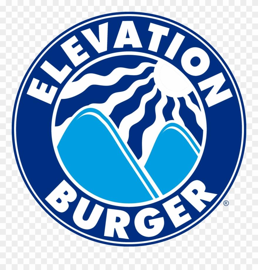 Elevation Burger Logo Clipart