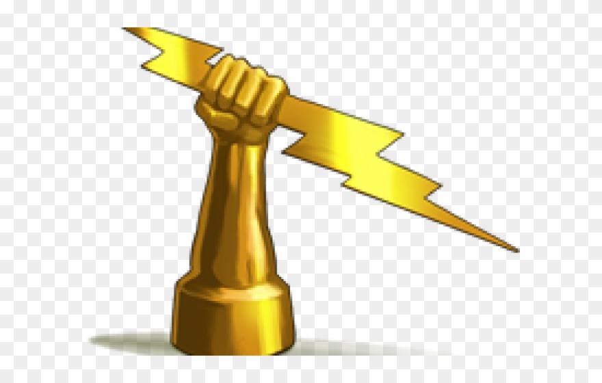 Zeus Lightning Bolt Zeus Lightning Bolt Png Clipart 1087527 Pinclipart