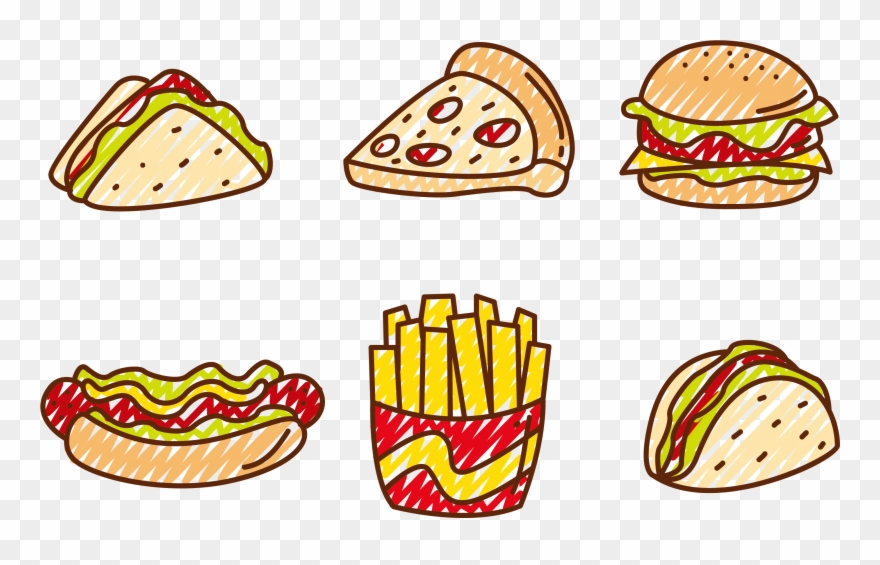 Food vector. Pizza clip hot clipart