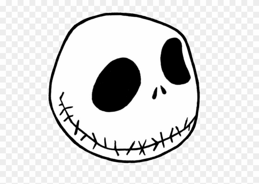 Free Download Jack Skellington Stencil Design