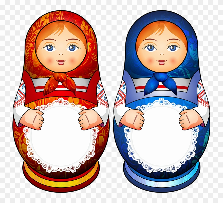 Babushka (matryoshka), Traditional Russian Wooden Nesting Doll.. Royalty  Free Cliparts, Vectors, And Stock Illustration. Image 87434789.