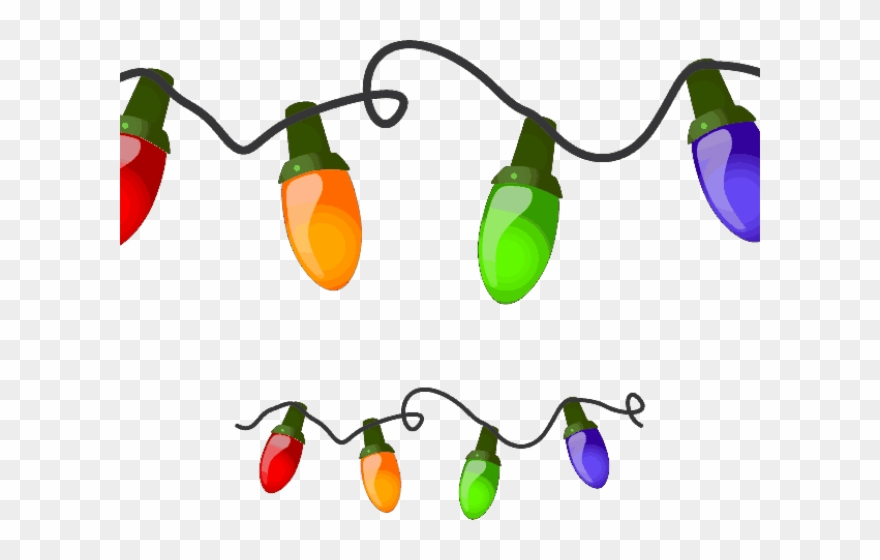 Christmas Holidays Clipart.Holiday Clipart Christmas Christmas Lights On String Png
