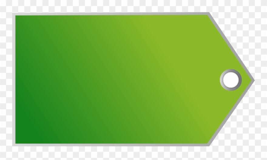 Price tag green. Label computer icons sticker