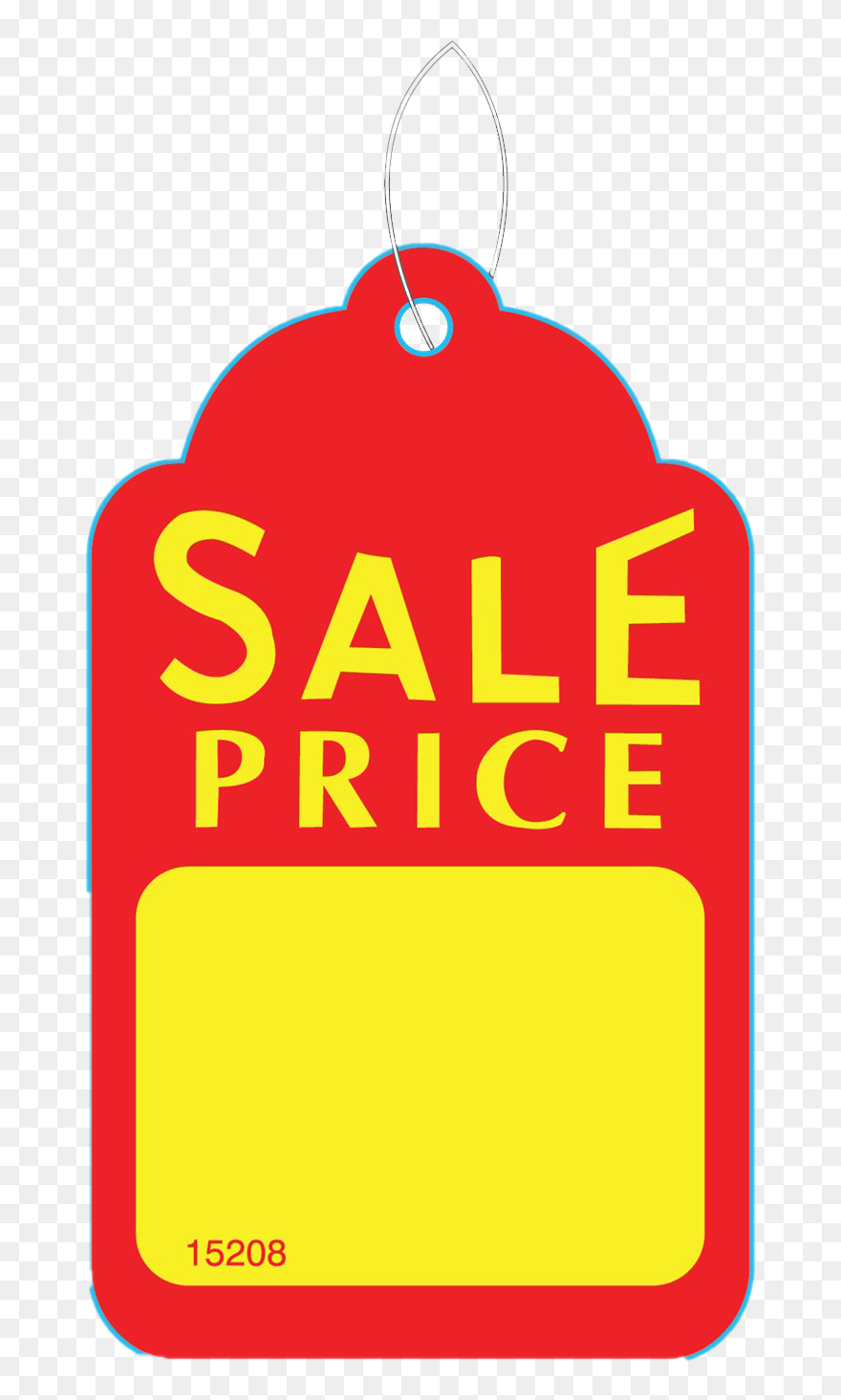 Price tag stock. Clip art black and