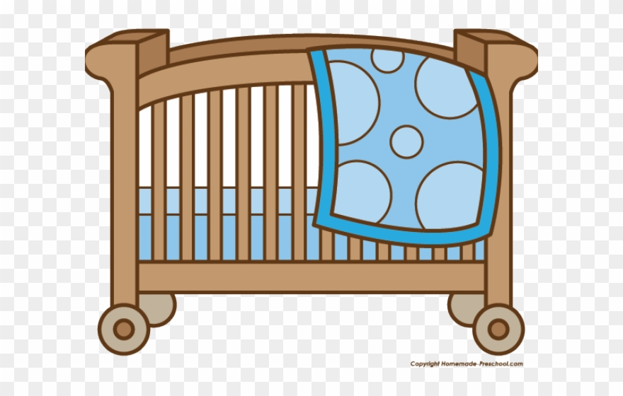 cdac3be86 Baby Girl Clipart Crib - Clip Art Baby Crib - Png Download ( 112243 ...