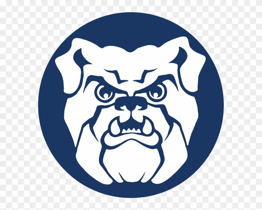 Bulldog blue. Butler bulldogs clipart pinclipart