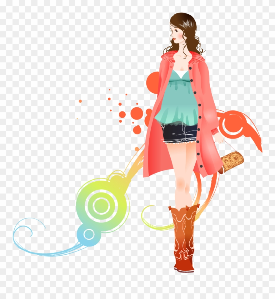 Download Fashion Girl Background Clip Art Transparent Fashion Design Background Png 114288 Pinclipart