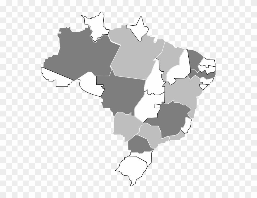 Desenho Do Mapa Do Brasil Clipart 114908 Pinclipart