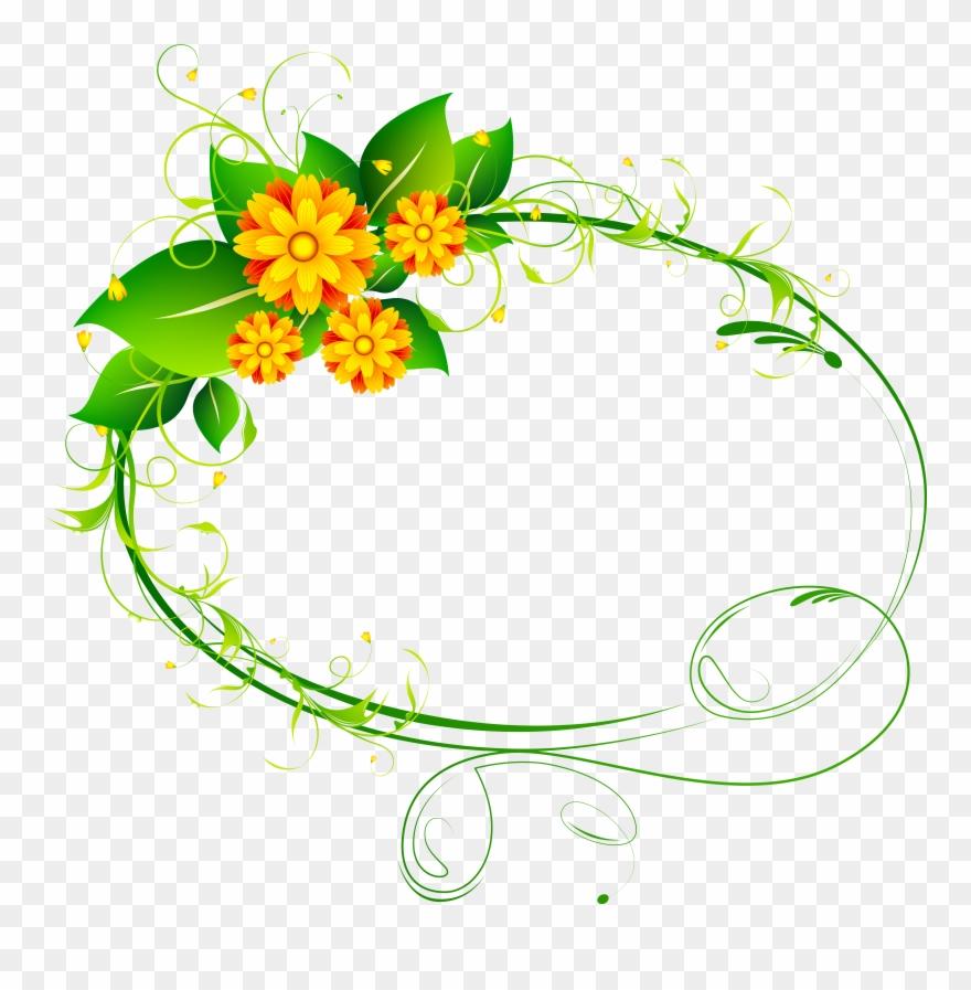 decor png clip art image flower frame flower oval frame png transparent png 114924 pinclipart decor png clip art image flower frame