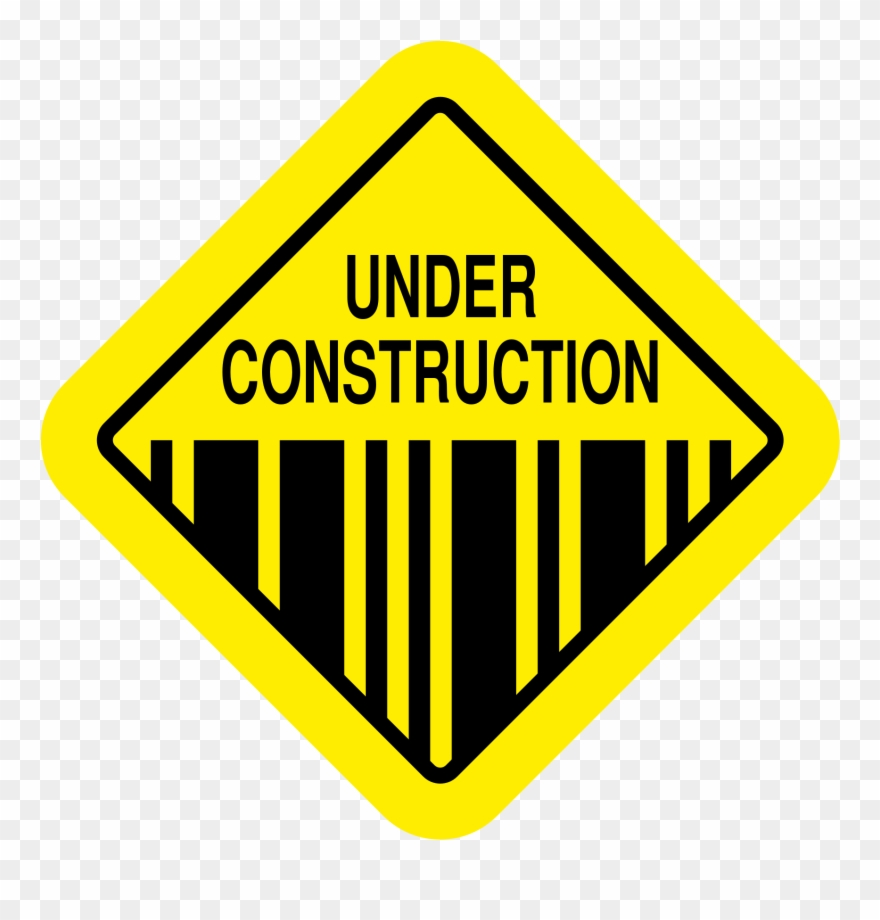 Earthquake Vector Caution - Under Construction Sign Svg Clipart