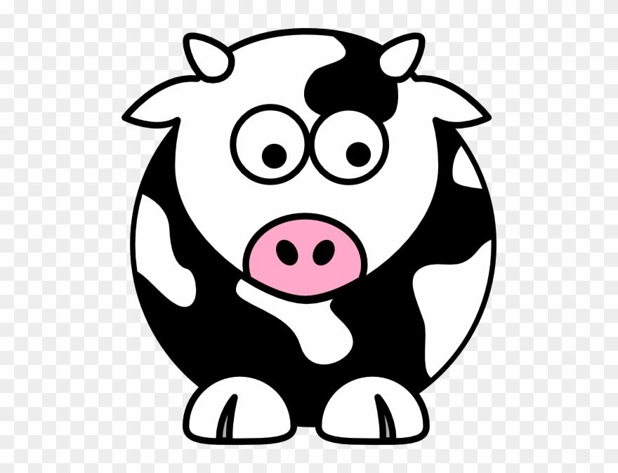 Black Cow Clip Art - Clip Art Cow - Png Download (#116699 ...