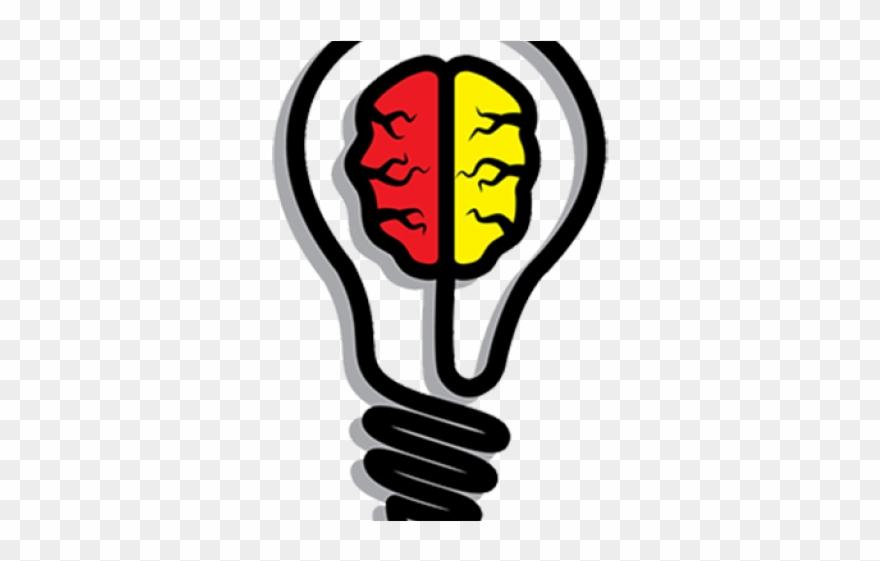 Secret book. Light bulb clipart creative