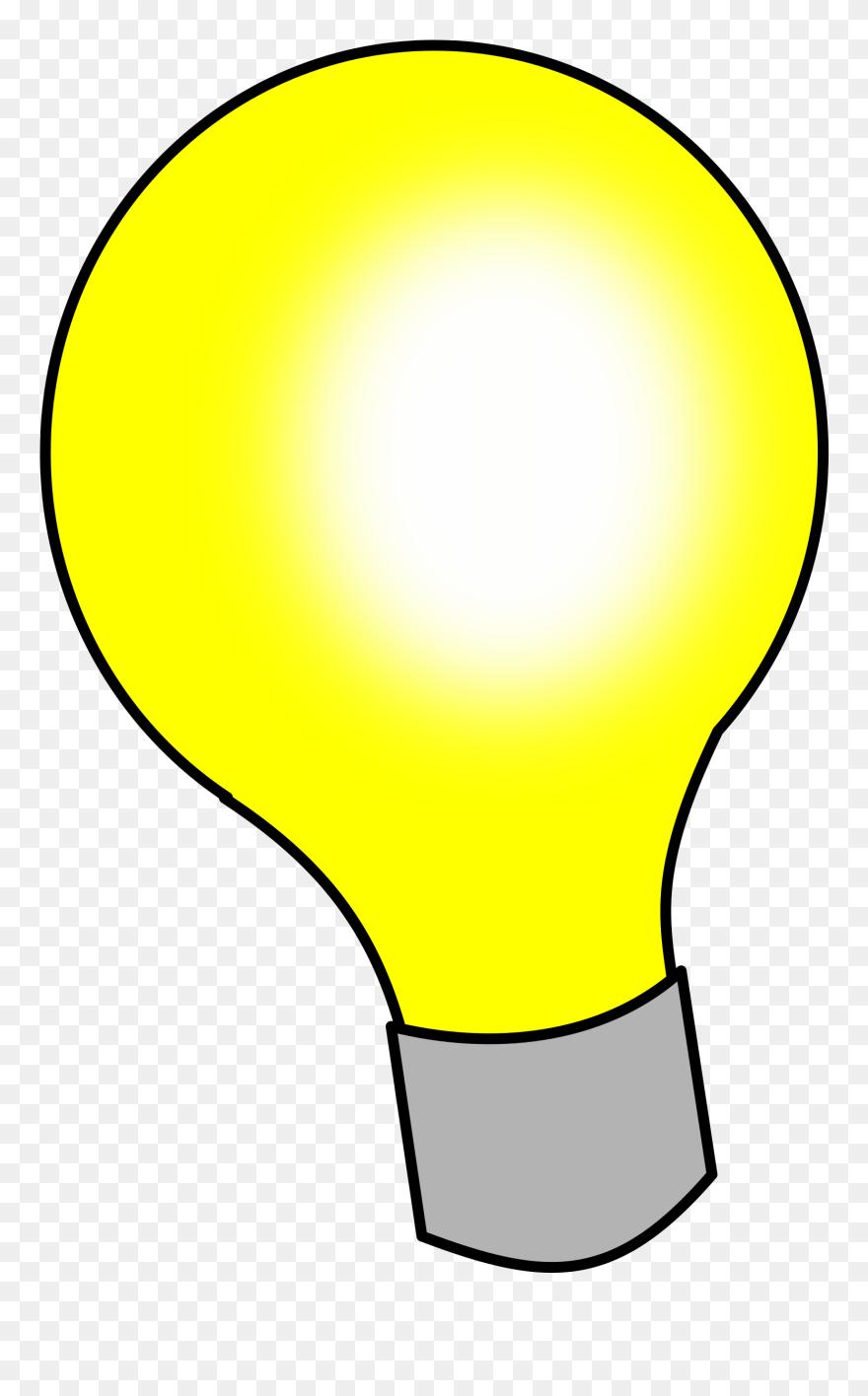 Lightbulb light bulb clip art 3 image cartoon light bulb black background png download