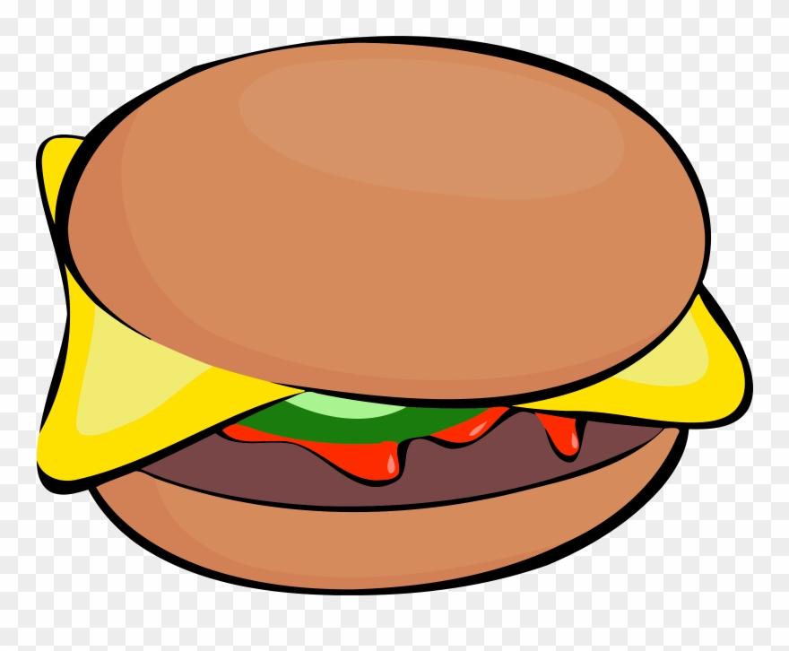 Big Image - Clip Art Burger Cartoon - Png Download