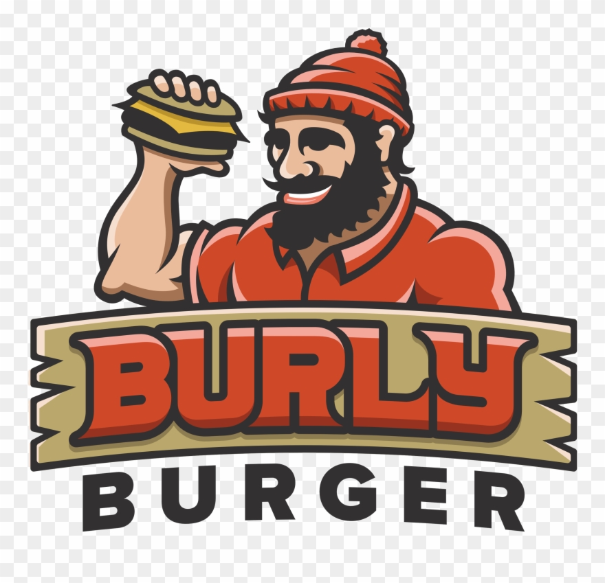 $5 Off Any Purchase Of $20 Or More At Burly Burger - Burly Burger Clipart