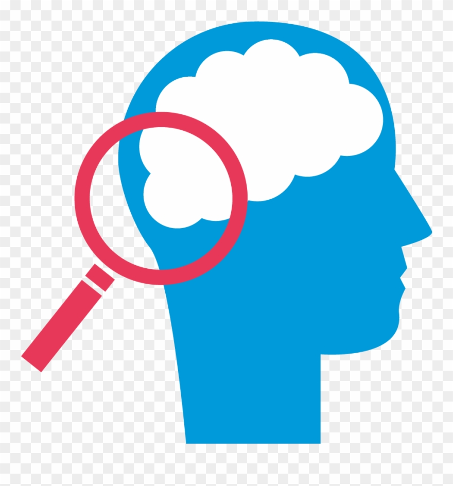 Brain psychology. Symbol of clipart pinclipart
