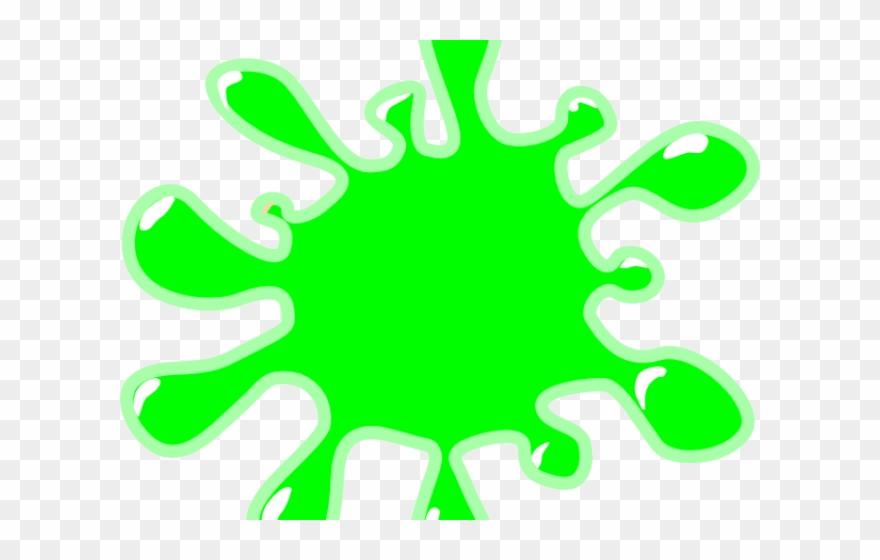 Slime splatter. Cliparts clipart transparent background