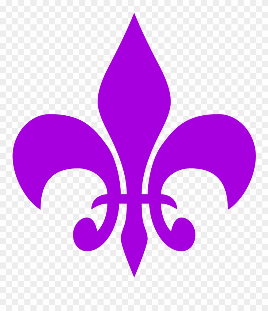 Need For Speed Clipart Symbol Fleur De Lis Clipart Free Purple
