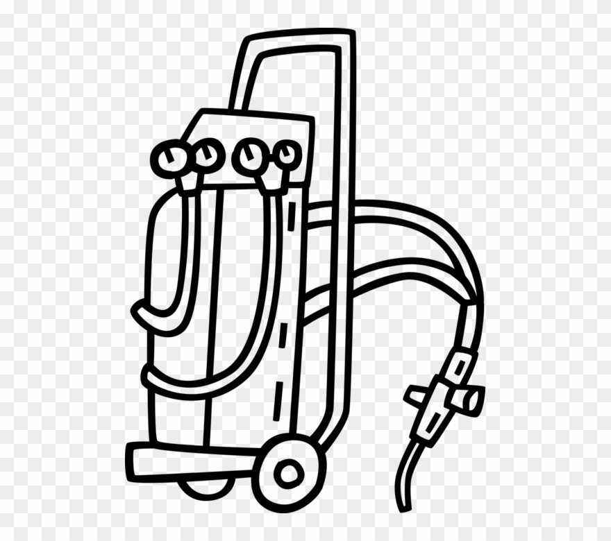 Vector Illustration Of Oxy Acetylene Welding Equipment Oxy Fuel Welding And Cutting Clipart 1118819 Pinclipart