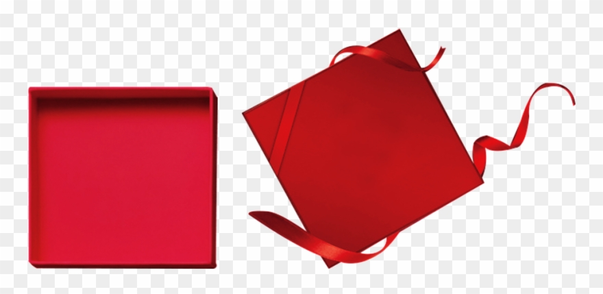 Open Gift Box Transparent Decorative Gift Clipart 1119299
