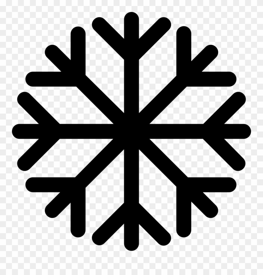 Snowflake Svg Png Icon Free Download 295978 Onlinewebfonts Black Snowflake Png Free Clipart 1119724 Pinclipart