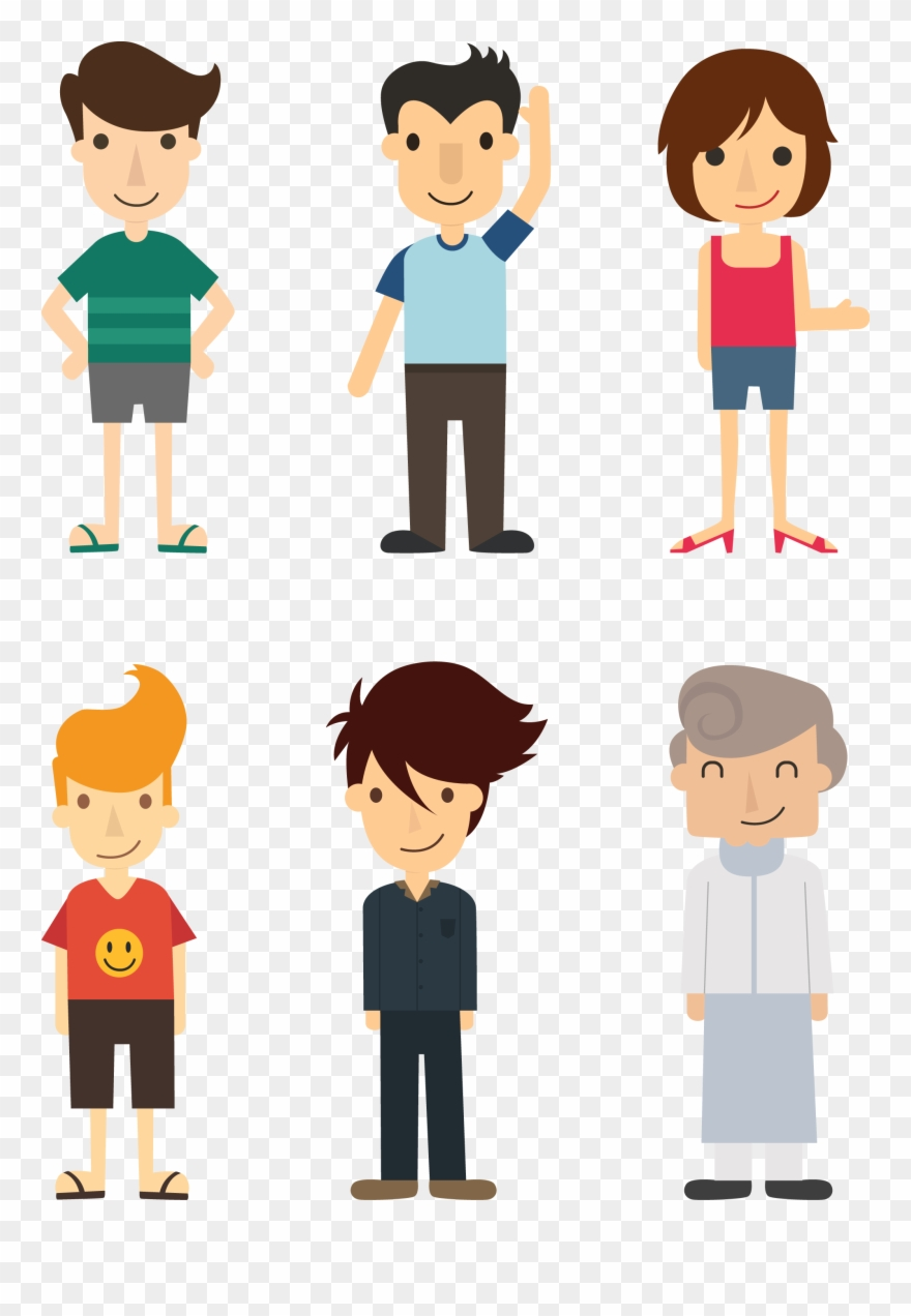 Person vector. People png persona clipart