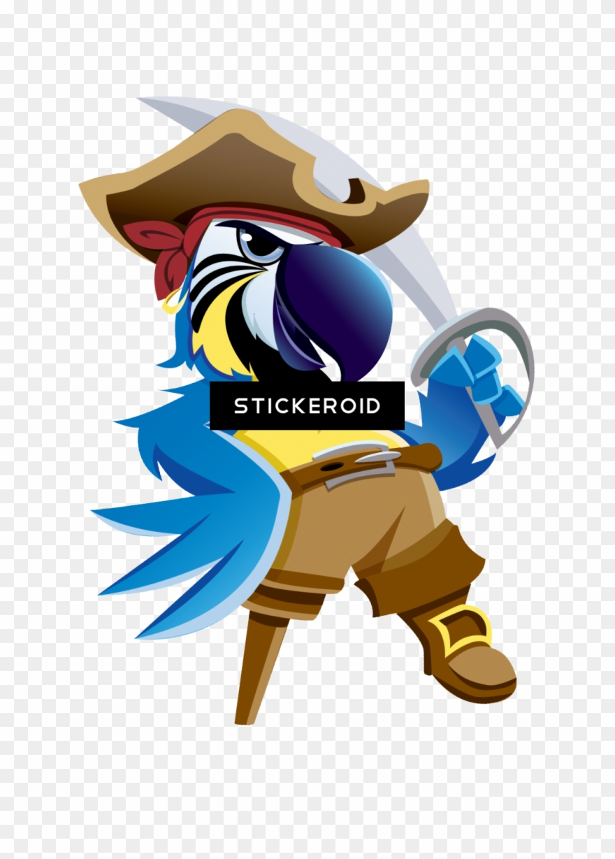 Pirate Parrot Pirate Parrot Png Clipart 1120833