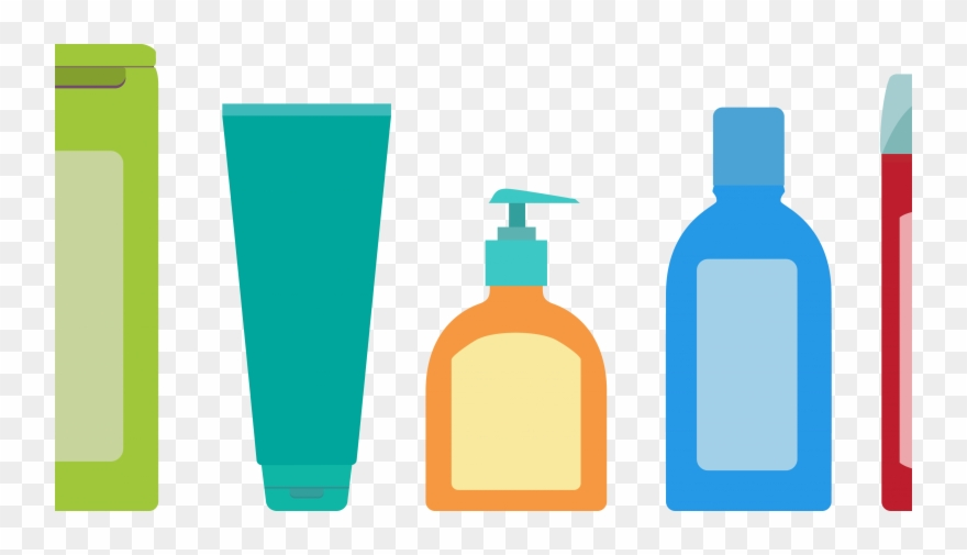 Shampoo Packaging - Personal Care Shampoo Icon Clipart