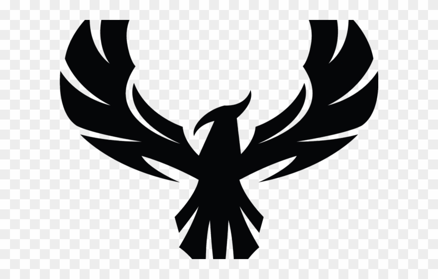 Phoenix Clipart Phoenix Silhouette Eagle Logo Design Black